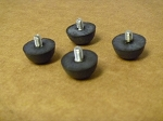 Beck Rubber Feet w/Screws (4)